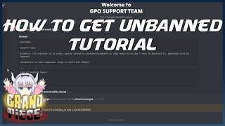 [GPO] How To Gęt UNBANNED