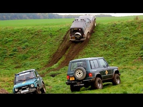 Off-road:Pajero-Samurai-Niva VS mount.4x4.