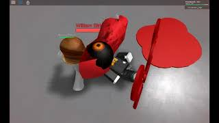 how to get killed by William Birkin in roblox