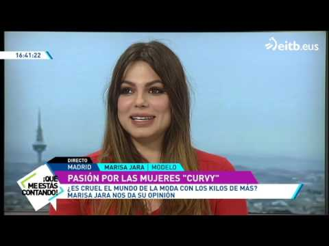 Marisa Jara pasó de modelo convencional a 'curvy'