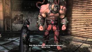 Arkham City Side Missions - The Dark Knight Rises - Batman vs Bane - Fragile Alliance