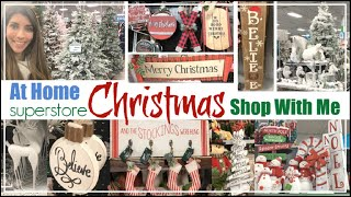 CHRISTMAS Decor SHOP WITH ME 2019 | At Home Store | CHRISTMAS DECOR JACKPOT | Momma From Scratch