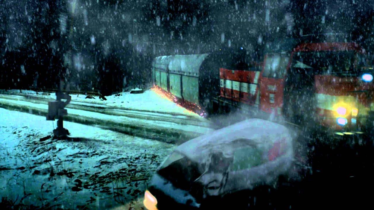 3D car vs train crash ...