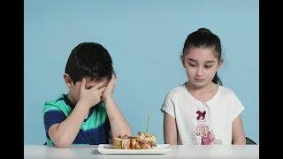 Дети Пробуют Бутерброды Со Всего Мира!
