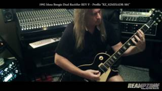 Glen Drover - Mesa Boogie Dual Rectifier Rev F Kemper Profiles (Megadeth - King Diamond - Testament)