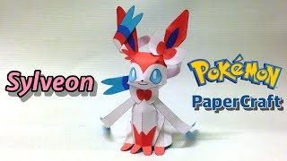 Sylveon PaperCraft Pokemon