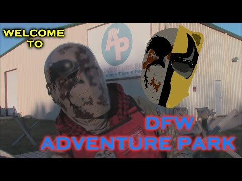 Welcome to DFW Adventure Park Airsoft