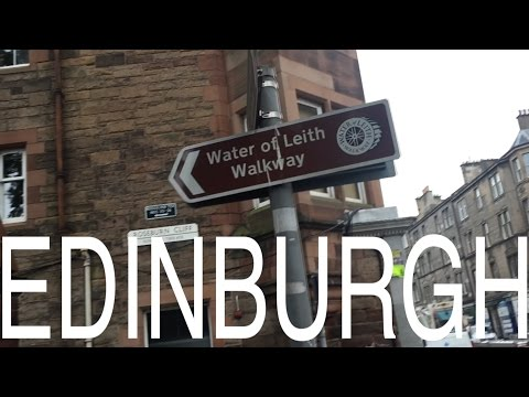 Edinburgh - Water of Leith Walkway