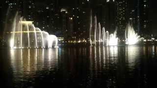 Dubai Fountain - Mon Amour