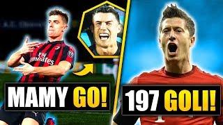 Piątek ZŁAPAŁ Ronaldo! Lewandowski przeszedł do historii!