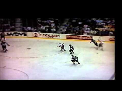 Wayne Gretzky hat-trick vs Mario Lemieux