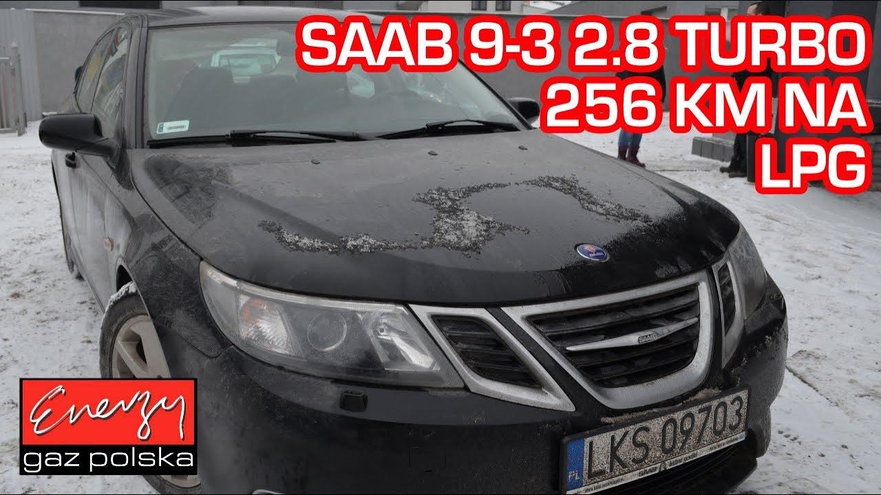 Montaż LPG Saab 9-3 2.8 TURBO 256 KM 2008r w Energy Gaz Polska na auto gaz BRC SQ 32 OBD