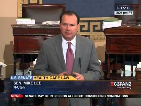 Sen. Mike Lee: Obamacare Has Caused Pain To My Constituents