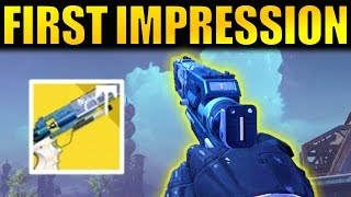 Destiny: TRESPASSER GAMEPLAY & FIRST IMPRESSIONS! | Rise of Iron Exotic Sidearm