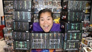 2019 Gamestop Marvel Funko Mystery Box X12 -  Black Friday