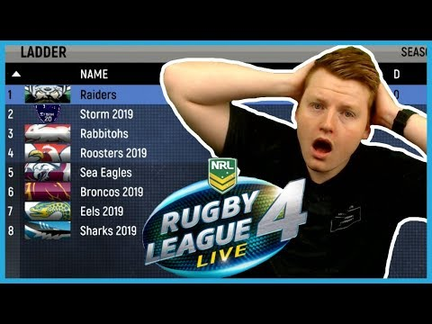 PREDICTING THE 2019 NRL GRAND FINAL WITH RUGBY LEAGUE LIVE 4