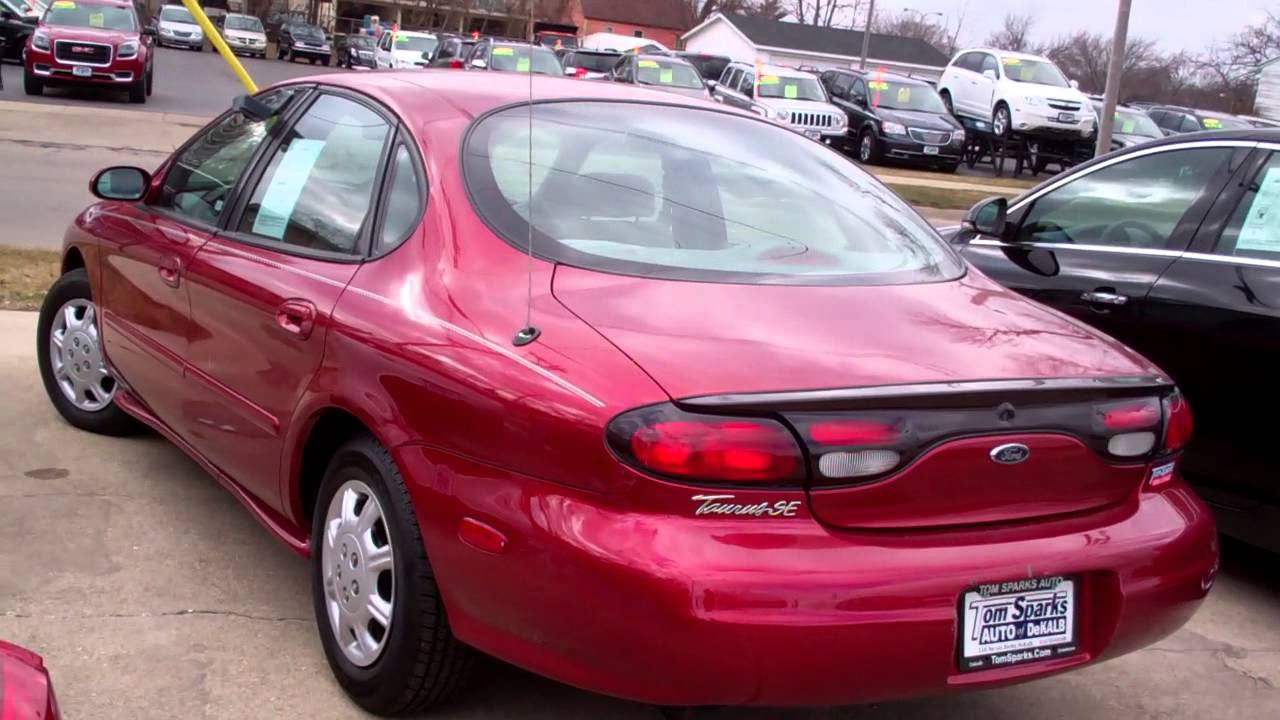 1998 ford taurus se low miles dekalb il near sterling il