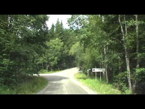 The nature reserve Glaskogen (Sweden) by car (Bushcraft / Survival)