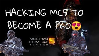Part:-1  Hacking MC5 to become a pro!!(how to become a pro izzi)