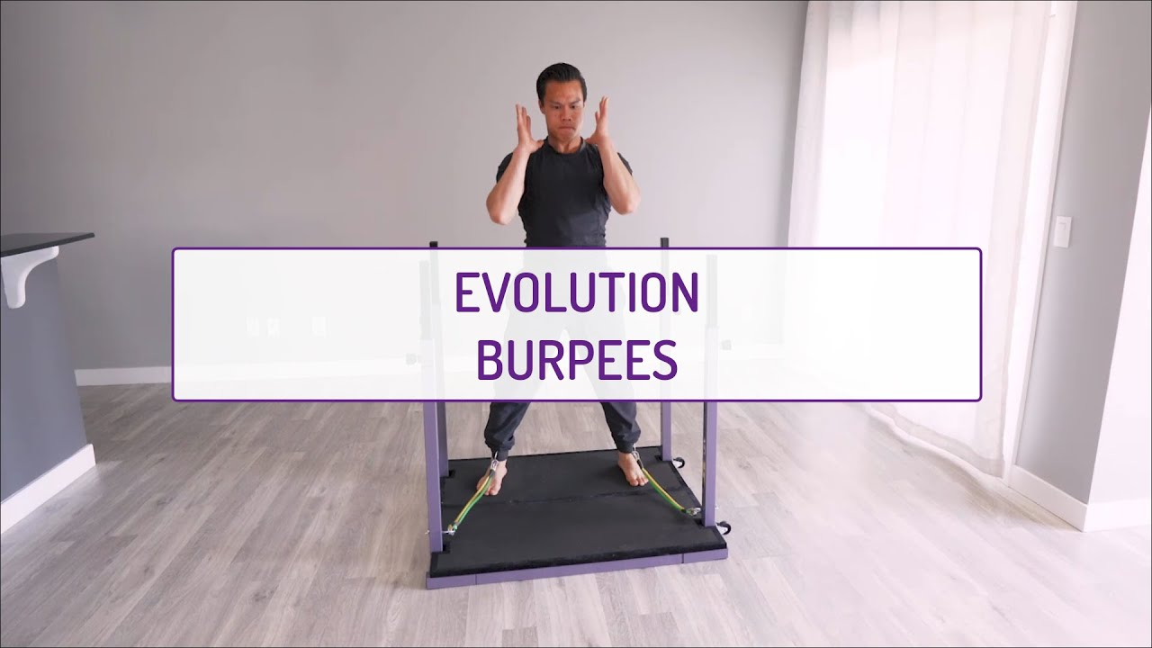Home Exercises | Evolution Burpees | Strength & Cardio | Full Body