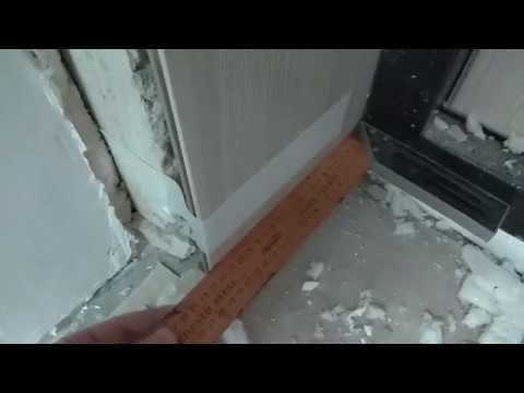 Как сделать откос (добор) на входную дверь.