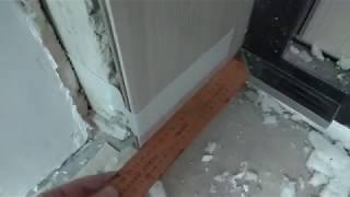 как сделать откосы входной двери видео из пластиковых панелей