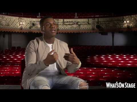 John Boyega on Woyzeck at the Old Vic