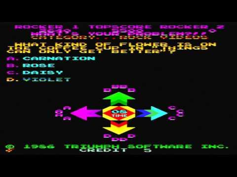 MTV's Rock 'N Roll Trivia: Part 2 (Arcade) gameplay