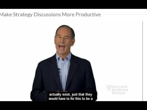 Make Strategy Discussions More Productive