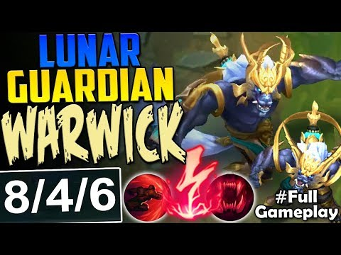 NEW LUNAR GUARDIAN WARWICK | MOST OP | New Runes Warwick vs Tryndamere TOP Season 8 PBE Gameplay