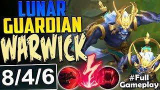 NEW LUNAR GUARDIAN WARWICK | MOST OP | New Runes Warwick vs Tryndamere TOP Season 8 PBE Gameplay