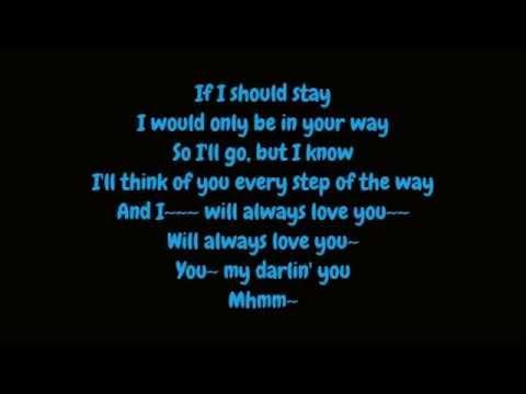 Whitney Houston - I Will Always Love You (Lyrics HD)