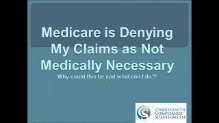 Medicare Medical Necessity Denials