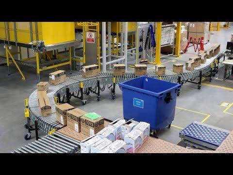 Centrum logistyczne Amazon w Pawlikowicach pod Pabianicami