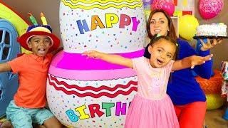 Happy Birthday Song Leah & Anwar Sing Along Nursery Rhymes & Kids Song