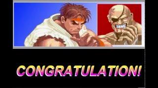 Street Fighter 2 Ryu vs Sagat Flash Game