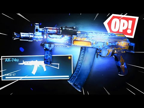 the Secret AK74u is LIKE HACKING in WARZONE.. (Modern Warfare Warzone)