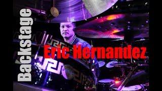 Backstage with Eric Hernandez (Bruno Mars' Band)