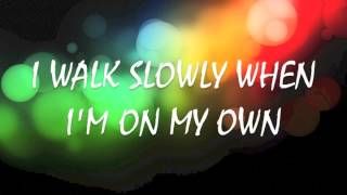 Owl City ~ If My Heart Was a House - Lyrics on Screen