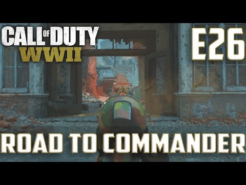 Call Of Duty World War 2(RTC)PS4 Ep.26-FFA On Aachen,London Docks(MP40,STG 44 Gameplay)