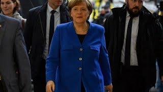 Merkel et les sociaux-démocrates d'accord pour négocier la formation d'un nouveau gouvernement