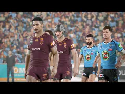 MELBOURNE STORM CAREER - ORIGIN GAME 3! - RUGBY LEAGUE LIVE 4