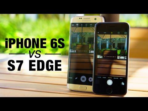 iPhone 6s vs Galaxy S7 Edge: Fight! (Camera)