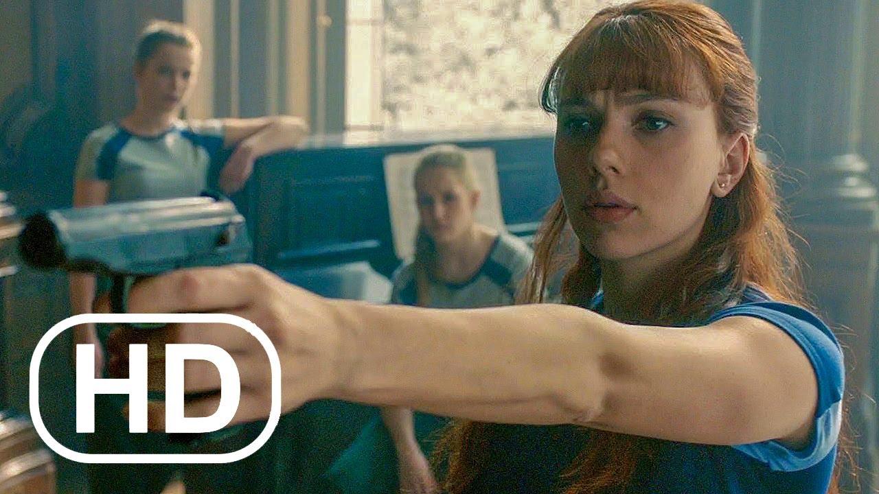 Visão da Viúva Negra - Cena da Sala Vermelha - Vingadores: Era de Ultron (2015) Clipe do FIlme HD