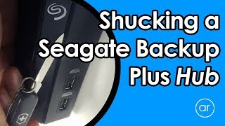 How to Remove / Shuck the Hard Drive from Seagate Backup Plus Hub