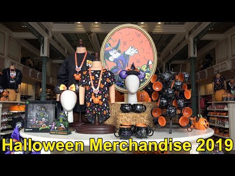 Halloween Merchandise at The Magic Kingdom Emporium 2019 - Walt Disney World