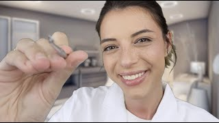 ASMR | Relaxing Dermatologist Appointment (Extractions, Cleansing!)