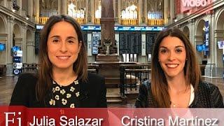 Cristina Martínez y Julia Salazar