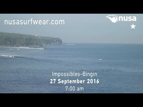 27-09-2016 /✰ / NUSA's Daily Surf Video Report from the Bukit, Bali.