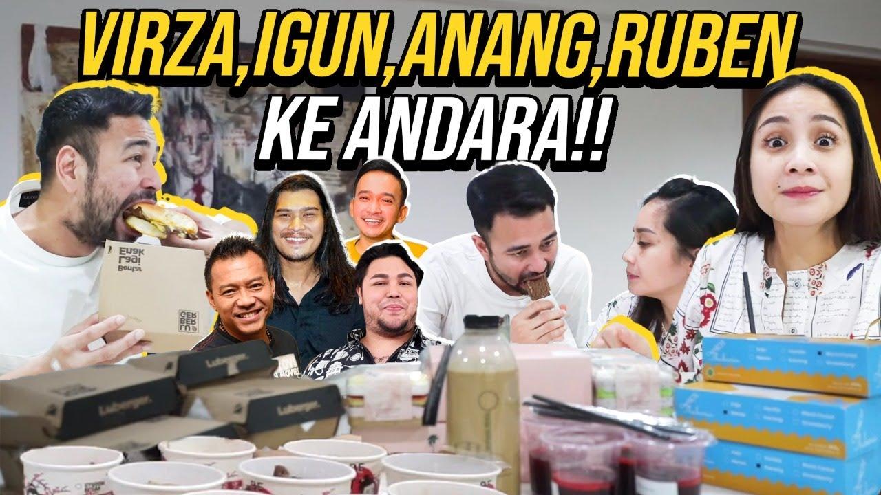 ALHAMDULILLAH!!! RAFFI NAGITA DI KASIH BANYAK MAKANAN!!!